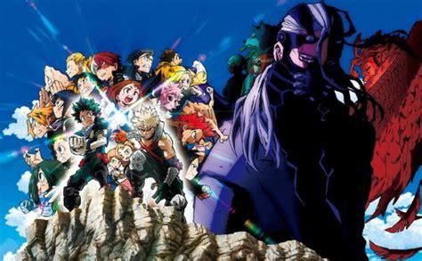 actu anime  double trailer pour  hero academia