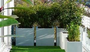 Gros Bambou Deco : paravent v g tal pour une terrasse intime pleine vie ~ Teatrodelosmanantiales.com Idées de Décoration