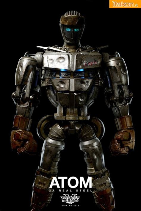 Great Real Steel Wallpapers by 3a Real Steel Atom By Po 3 Itakon It