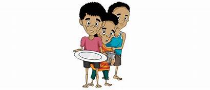 Child Malnutrition Malnourished Clipart Neglected India Problem