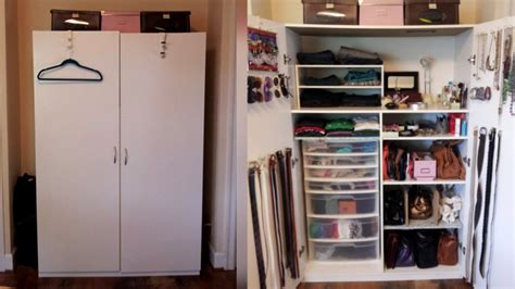how to organise a lot of clothing in closet