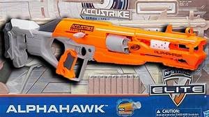 Nerf Alphahawk Review  Unboxing   Firing Test   New Nerf