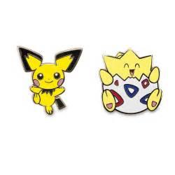 pichu and togepi pokémon pins 710