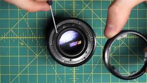 Minolta Md 50mm F1 7 Lens Disassembly