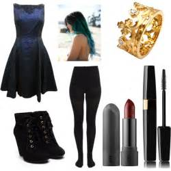 blue hair extensions evie from descendants polyvore