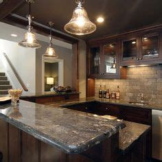 custom kitchen designs pictures the basement bar is anchored on one side by stacked 6384