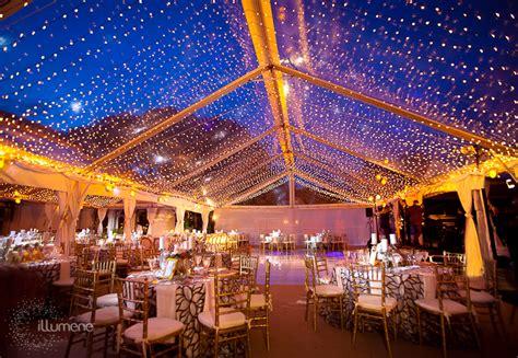fisher island wedding and event lighting