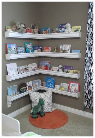 children s book rack wall mounted book shelves are decorative easy to build