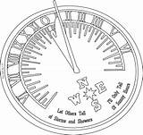 Sundial Read Freebie Know Bit Says Hard sketch template