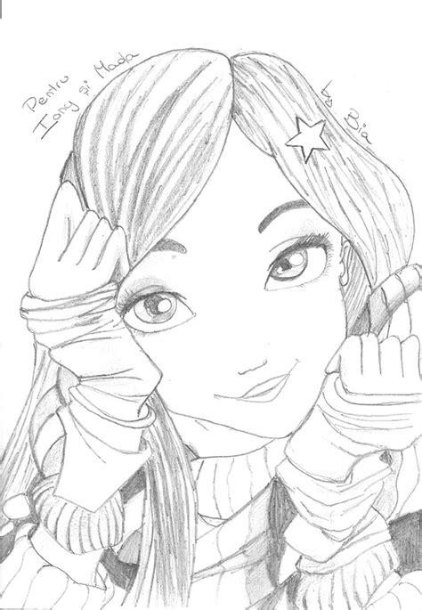 disegni a matita di ragazze disegni di ragazze a matita facili