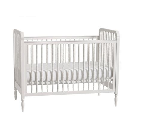 Pottery Barn Spindle Crib elsie spindle convertible crib pottery barn