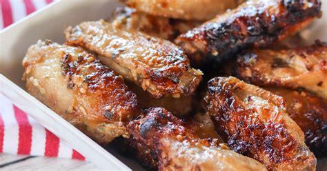 parmesan fryer air garlic wings chicken dish recipes