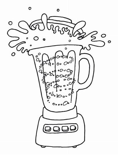 Smoothie Drawing Healthy Recipe Quick Drawings Kind