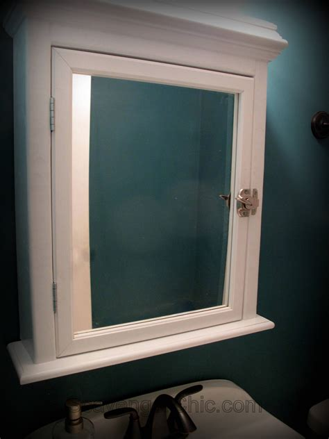 where can i buy a medicine cabinet create a medicine cabinet from a mirror diy scavenger chic