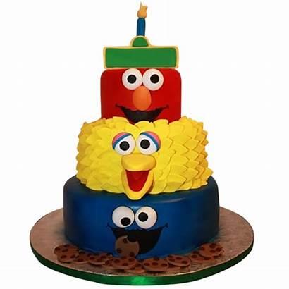 Cake Street Sesame Cool Cakes Birthday Tiered