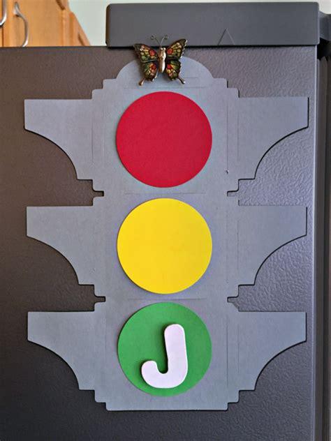 traffic light behavior chart  printable