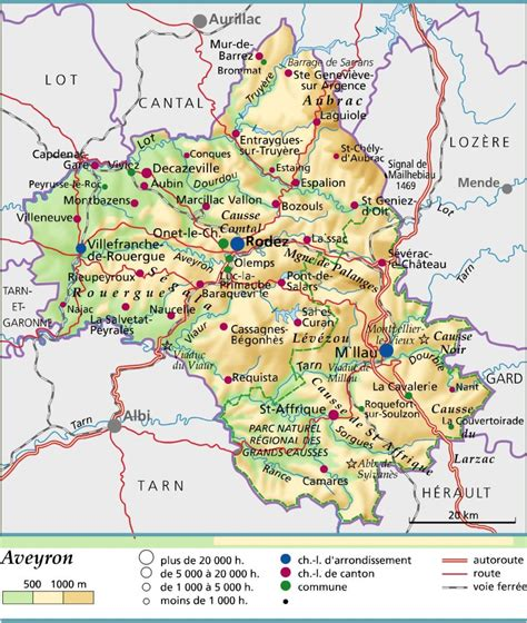 Carte Fleuve De by Infos Sur Aveyron Fleuve Carte Arts Et Voyages