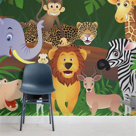 Childrens Animal Wallpaper Uk - bedroom wallpaper page 3 of 6 murals wallpaper