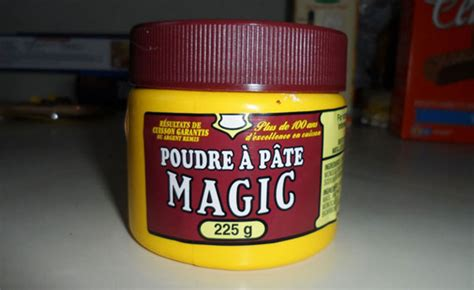 poudre a pate levure 7 things 1 the green geekette