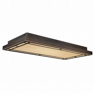 Oak park flushmount ceiling light