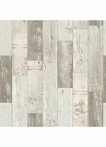 Papier Peint Photo : papier peint imitation parquet en bois beige gris ~ Melissatoandfro.com Idées de Décoration