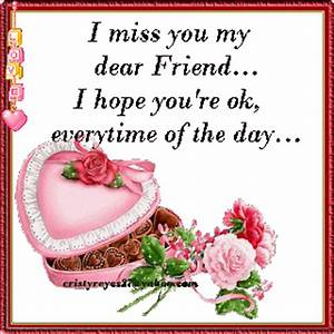 Expression of Our Heart: miss friend a lot..