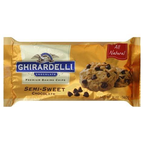 semi sweet chocolate ghirardelli chocolate chips semi sweet chocolate