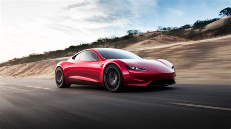 Tesla Roadster Hd Wallpaper