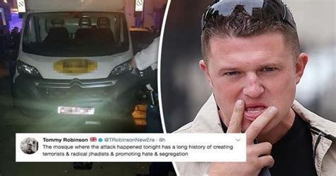 Fury as Ex-EDL leader Tommy Robinson accuses Finsbury Park ...
