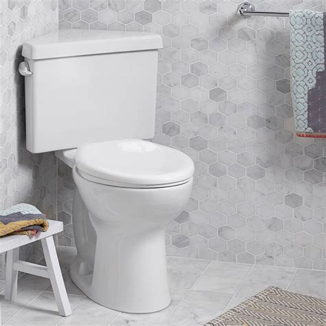cadet pro elongated corner toilet  gpf american