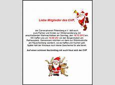 Winterwanderung und Weihnachtsfeier Carnevalverein