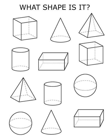 3d shapes homeschooling 3d shapes worksheets shapes