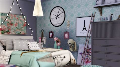 Deco Chambre D Ado The Sims 4 D 201 Co Chambre D Ado Bedroom
