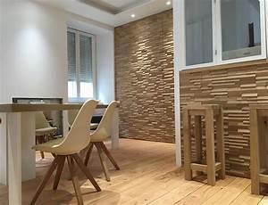 Mur En Bois Intérieur Decoratif : crochere mur bois aspect brut en sapin naturel et chauff ~ Teatrodelosmanantiales.com Idées de Décoration