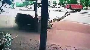 Pedestrian sent flying in fatal car crash by driver ...