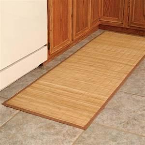 Bamboo Floor Mat - Large Bamboo Mat - Walter Drake