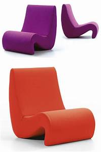 Verner Panton Chair : verner panton amoebe chair vitra lounge chairs ~ Frokenaadalensverden.com Haus und Dekorationen