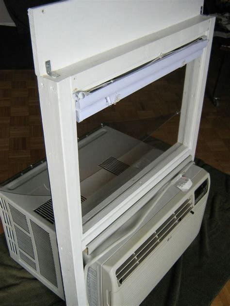 mounting  standard air conditioner   sliding window    window air conditioner