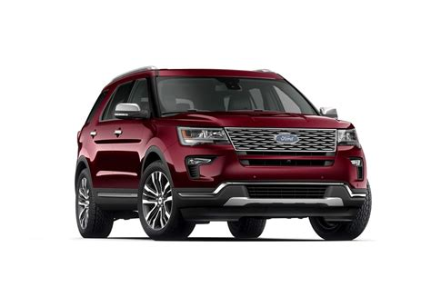 2019 Ford® Explorer Platinum Suv  Model Highlights Fordcom