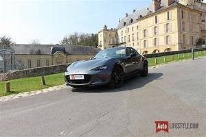 Mazda Mx 5 Rf Occasion : essai mazda mx 5 rf first edition 2 0 skyactiv g 160 ch auto ~ Medecine-chirurgie-esthetiques.com Avis de Voitures