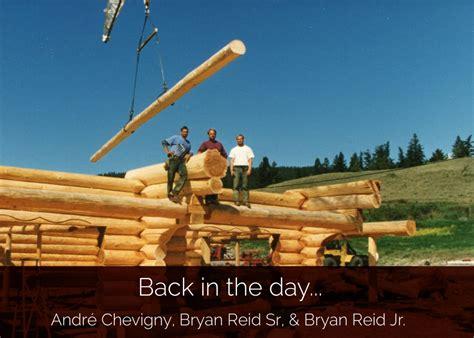 log home  log post beam design  construction bc