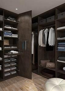 Dressing Sans Porte : le dressing sur mesure la solution rangement qui fait r ver ~ Dode.kayakingforconservation.com Idées de Décoration