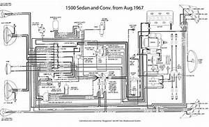 1973 Super Beetle Wiring Schematic For
