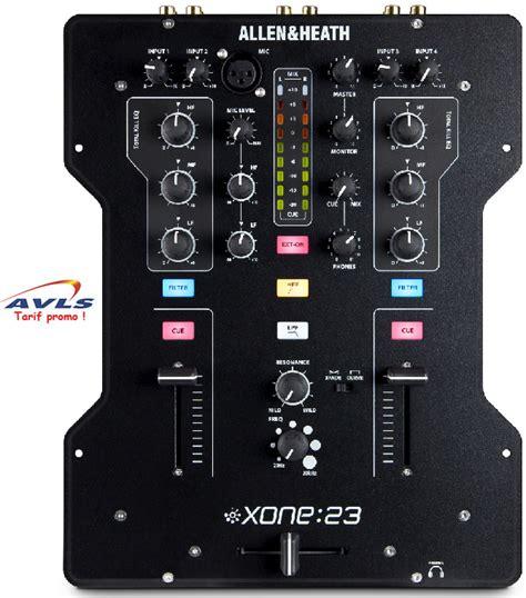 Table De Mixage Allen Heath, Table De Mixage Audiophony