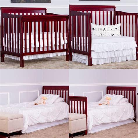 on me mini crib bedding on me 4 in 1 aden convertible mini crib