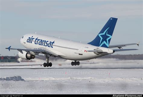 c gtsx air transat airbus a310 at montreal elliott trudeau intl qc photo id 39084