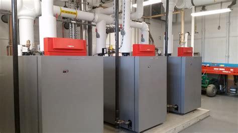 viessmann vitocrossal 200 commercial boiler installation with viessmann sander