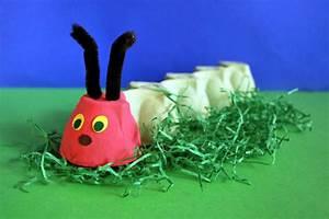 Basteln Mit Eierkartons Frühling : raupen basteln kinderspiele ~ Frokenaadalensverden.com Haus und Dekorationen