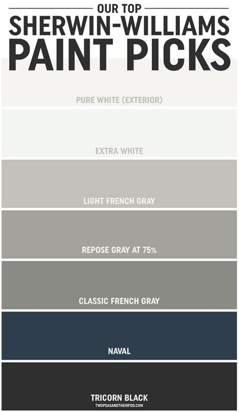 tips for picking out the paint colors two peas their pod