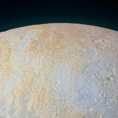 Pluto's scarred north pole laid bareCosmos